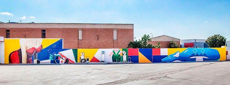 mural_ana_barriga_instalaciones_palibex_paleteria_transporte_urgente_mensajeria