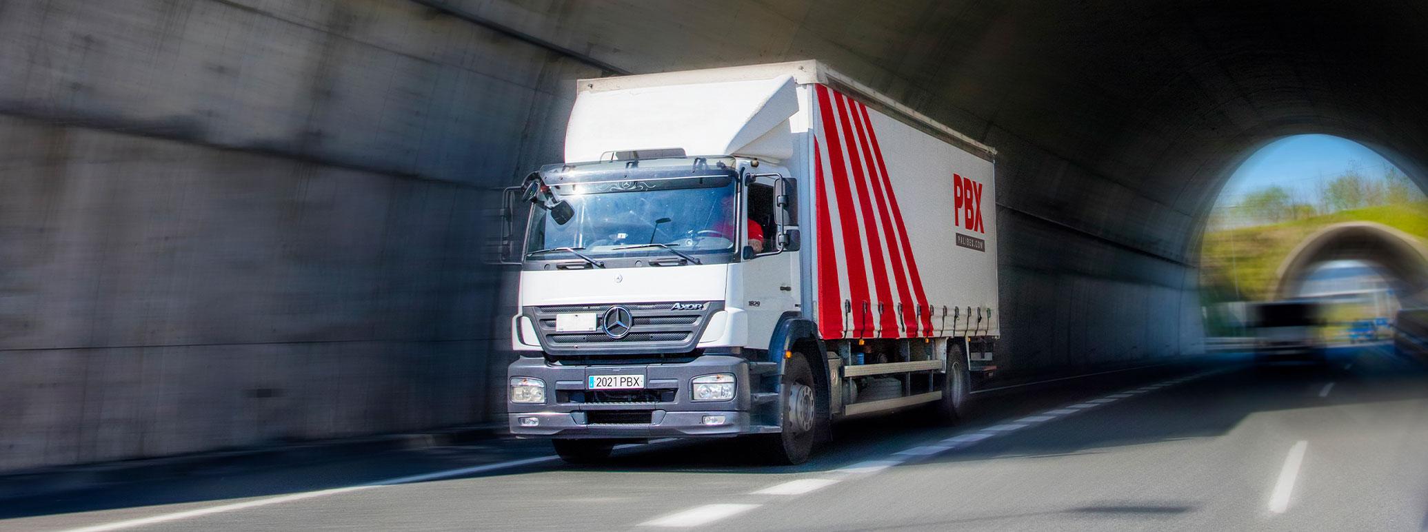 Transportes logisticos huesca - palibex - camion transporte